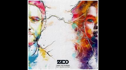 Превод! Zedd ft. Selena Gomez - I Want You To Know