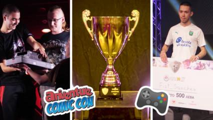 Магията на ANIVENTURE COMIC CON 2019 през очите на топ БГ геймърите!