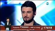 Славин Славчев - драматична песен - X Factor Live (26.01.2015)
