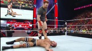 Rob Van Dam vs. Cesaro Raw, May 26, 2014