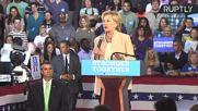 'Friends Don't Let Friends Vote For Donald Trump' - Clinton