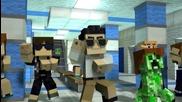 Мinecraft Parody --- Psy's Gangnam Style