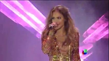 Jennifer Lopez feat. Pitbull - Medley (live Premios Juventud)