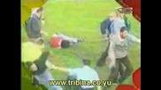 Neredi Delije - Grobari(hooligans Of Serbia,