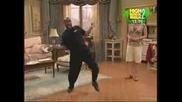 mr moseby teaching london to dance