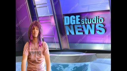 Новините на Dge Tv (+bloopers)