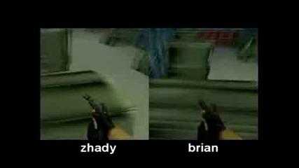Zhady Vs Brian - Cgstrafejumpz