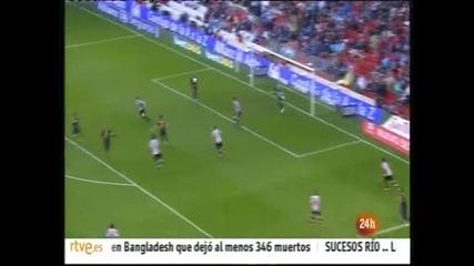 """""""Атлетик"""" (Билбао) не се даде на """"Барселона"""" и отложи шампионските тържества"""