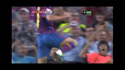 Fenomenalen Gol na Pedro za 1:0 sreshtu Almeria