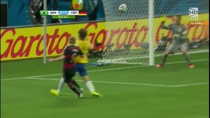 Световно първенство по футбол 2014 Бразилия - Германия - Второ полувреме