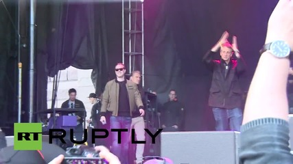 Sweden: Tony Hawk kicks off Gumball 3000 in Stockholm