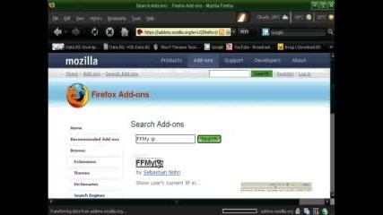 Mozilla Firefox Ip Adress