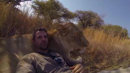 Любовта между човека и животните!