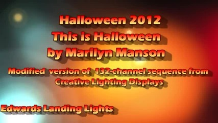 This is Halloween - by: Marilyn Manson