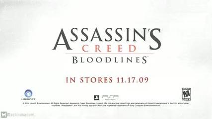 Assassins Creed:bloodlines Trailor (psp) (hq)