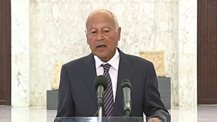Lebanon: Aboul Gheit affirms Arab League's readiness to aid and investigate after Beirut blasts