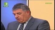 Валери Смиленов на Предизборен диспут от Благоевград
