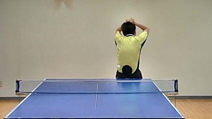 Невероятни и смешни трикове с пинг понг 2016