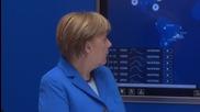 Germany: Merkel touts close 'economic relations' with Switzerland at CeBIT
