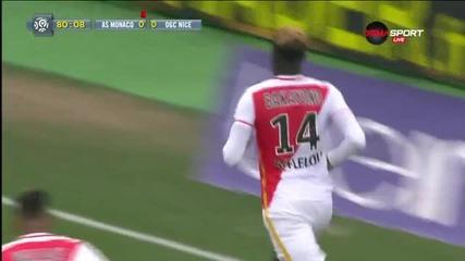 Монако - Ница 1:0 /Лига 1, 25-и кръг/