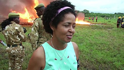 Kenya: Ivory stockpile worth €150 mln burned in Nairobi National Park