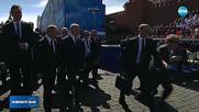Охраната на Путин спря ветеран, президентът го покани със себе си