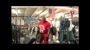 Рони Колман - тежащ 160 килограма - част 1