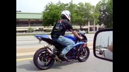 Gsxr taking off when taunted