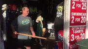 USA: Daytona Beach starts recovery efforts following Hurricane Matthew