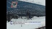 Снегът затвори пътища и остави десетки села без ток в Хасковско