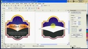 Creating labels using the Interactive Contour tool Coreldraw