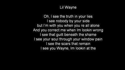 Bruno Mars ft. Lil Wayne - Mirror ( Lyrics on Screen )