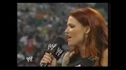 Trish Apologizes To Lita