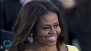 First Lady Michelle Obama Arrives in UK For Charity Work