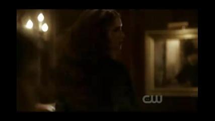 Katherine Pierce and Damon Salvatore..