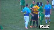 Играчи и рефери - комични ситуации на терена - Players and Referees Craziest Reactions Fight