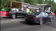 Mercedes C63 A M G vs Corvette Z06 vs Bmw M5 F10 vs Mercedes M L 63 A M G