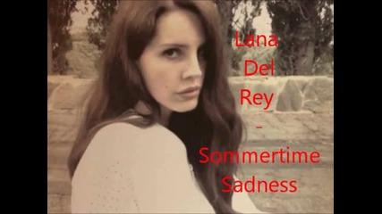 Lena Del Rey _-_sommertime Sadness_-_