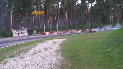 Raw footages of Bmw E92 in Drift. 30.07.2013 Riga