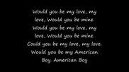Estelle - American boy [ lyrics ]