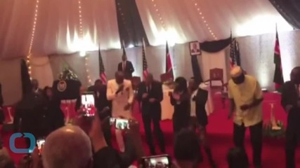 President Obama Dances With a Kenyan Pop Group, Proves He Has Some Serious Moves