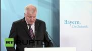 Germany: Bavaria's Seehofer demands German govt limit influx of migrants