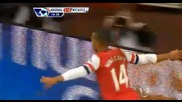Арсенал победи Нюкасъл със 7:3 в изключително зрелищен мач!