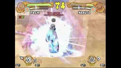 Naruto Un4:shippuuden Naruto vs Itachi Gameplay