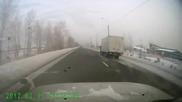 Ужас ! Ненормален руснак с Лада през зимата :)