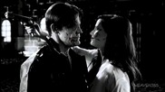Култовите герои Дуайт Маккарти и Ейва Лорд от филма Град на Греха 2: Жена, за която да убиеш (2014)