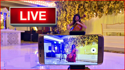 Adham&Haya Wedding | My Heart Will Go On | LIVE
