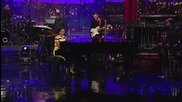 Alicia Keys - Brand New Me ( Live on Letterman )