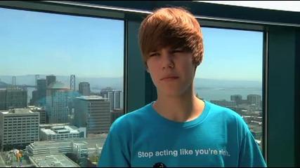 Justin Bieber wishes Selena a Happy Birthday !