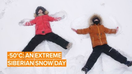 Extreme snow day: When kids can skip school in the world's coldest city